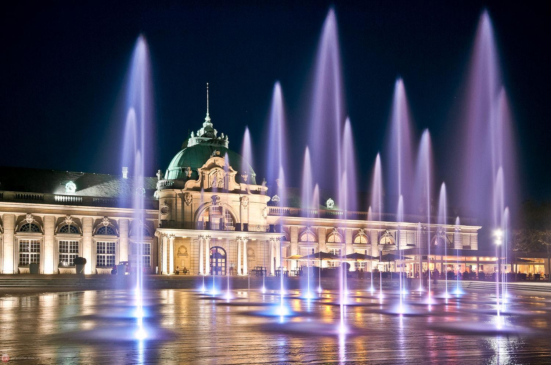 Kaiserpalais bei Nacht I