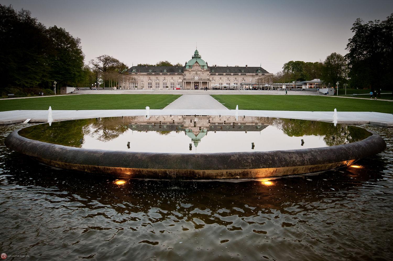 Das Kaiserpalais bei Tag