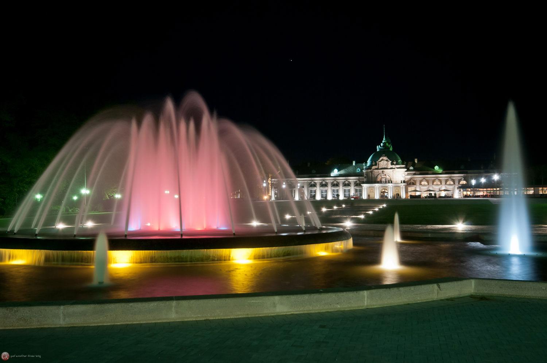 Kaiserpalais bei Nacht V