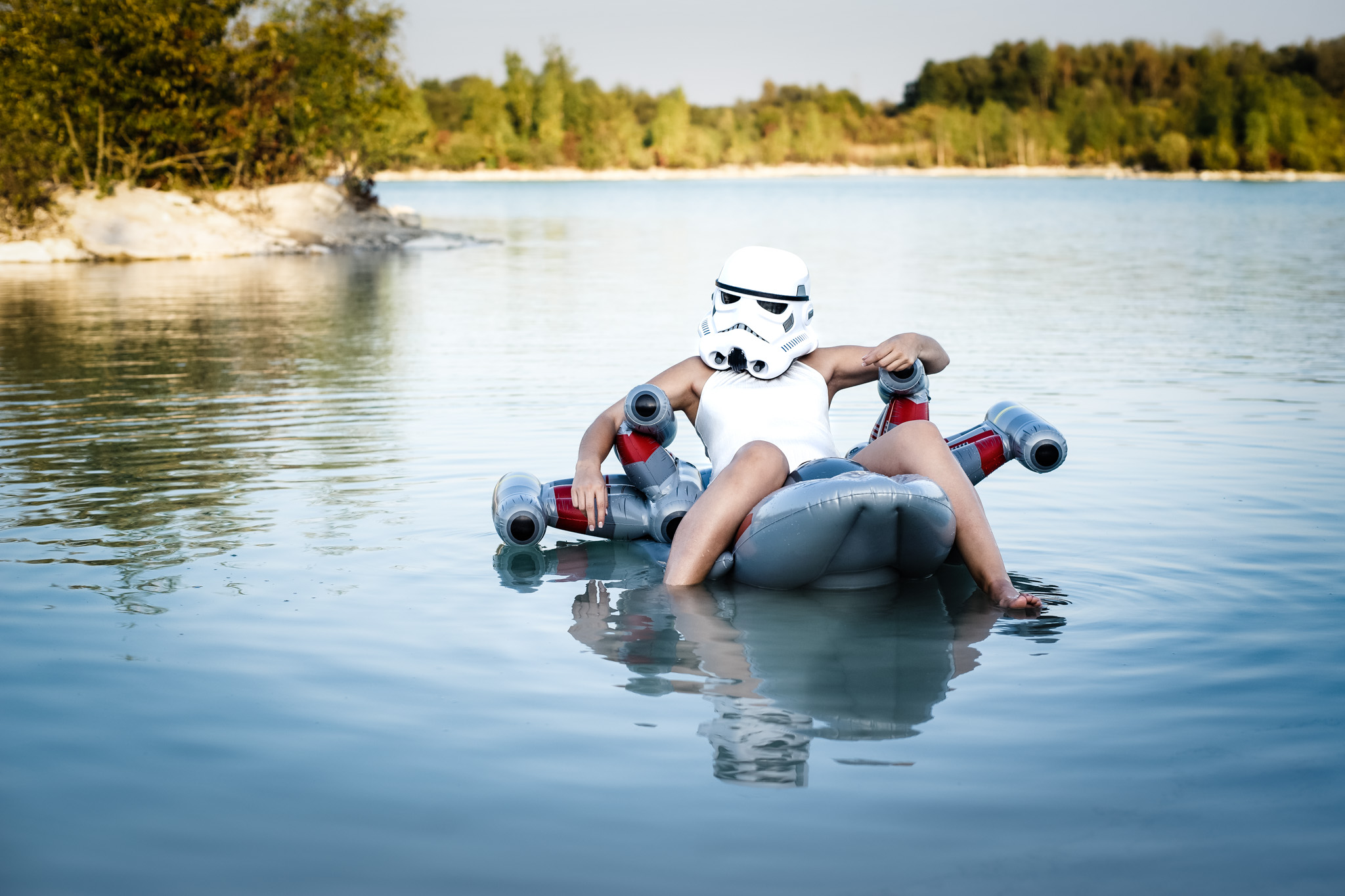 Chilling Trooper